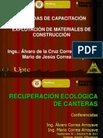 11.- Recuperación Ecológica de Canteras