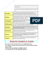 Nine Types of Questions in UPSC Mains Exam
