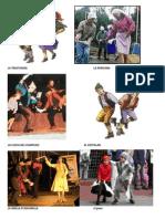 Bailes,Vestimenta,Instrumentos,Zona Sur
