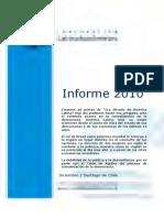 Informe 2010 Sudamericano (Delincuencia Desempleo)