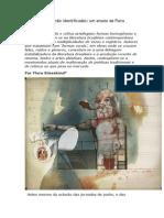 Flora Sussekind, Objetos Verbais Não Identificados (O Globo Prosa 21-9-2013)