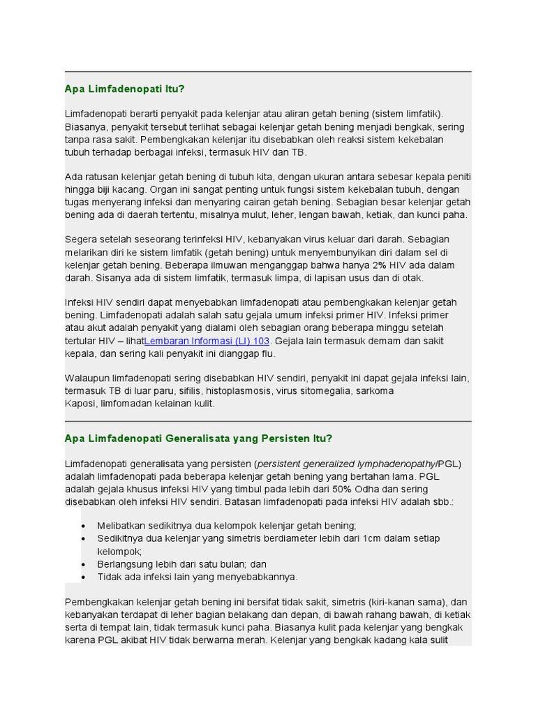 LIMFADENOPATI GENERALISATA PDF