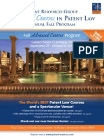 PRG Fall 2014 Advanced Courses Catalog