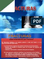 FRACTURAS-PRIMEROS AUXILIOS