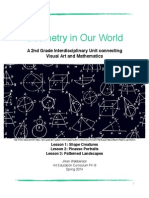 geometry in our world - an interdiscipinary art unit pdf