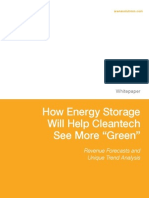 How Energy Storage Will Help See More Green; John Papageorge - Arena Solutions, White Paper 12pp, Dec'2013