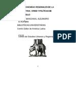 MANZANAL Mabel, ROFMAN Alejandro, Las Economias Regionales de La Argentina - Crisis y Politicas de Desarrollo