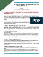 3.- Las Concepciones Garantista y Autoritaria Del Proceso Civil en El Siglo Xx (Juan Montero Aroca)