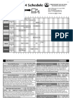 2014Summer Schedule