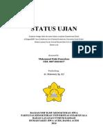 1.Cover status ujian rizki