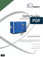 Instruction Manual QUINCY QGV 66000-1a El Cafe