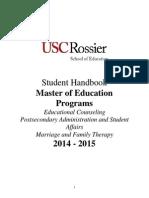 Mpo Student Handbook 2014-2015 5.19.14