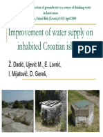 Dadic Et Al_Improvement of Water Supply on Inhabited Croatian Islands