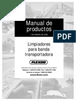 Manual Limpiadores Para Fajas - Flexco