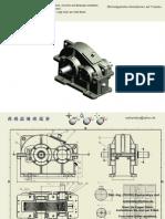 Stirnradgetriebe 3D Modell