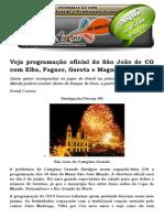Prefeitura Divulga Programação Do Maior São João Do Mundo