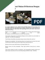Rasakan Sensasi Makan Di Restoran Dengan Konsep Toilet