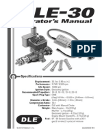 DLE 30 Manual