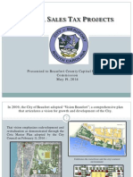 City of Beaufort Sales Tax Project List