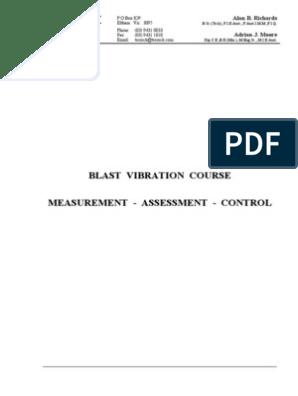 blast-vibration-course_measurement_assessment_control pdf