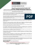 MINISTRO DEL INTERIOR PRESIDE REUNIÓN DE TRABAJO EN HOSPITAL DE POLICÍA PARA ATENDER NECESIDADES INMEDIATAS
