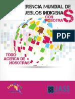 CONFERENCIA MUNDIAL DE LOS PUEBLOS INDIGENAS. CON NOSOTRAS (JASS & Alianza de Mujeres Indígenas de México y Centroamérica)