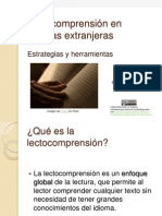 Lectocomprensión en lenguas extranjeras.ppt