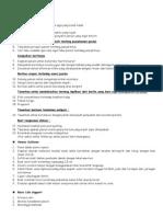 Checklist Osce 2008