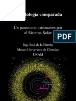 Planetologia comparada