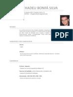 Curriculum Diego Bonfa