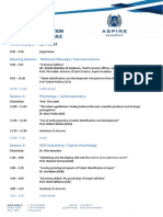 ASPIRE TID Conference Schedule-1stApril2014