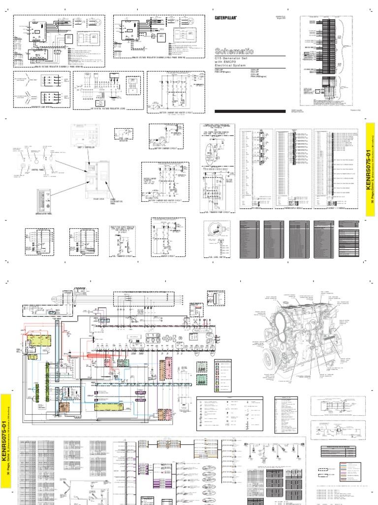 KENR5075-01 Schematic Electrical C15