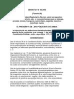 Decreto 616 de 2006