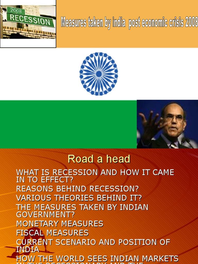 recession in india 2008