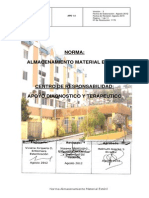 Norma de Almacenamiento de Material Esteril