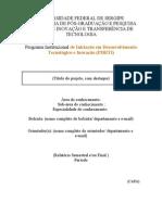 Modelo de Relatório Parcial 2013-2014