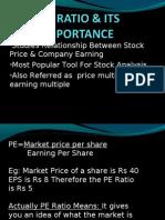 •Studies Relationship Between Stock