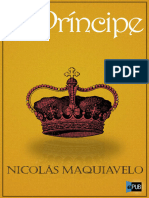 Nicolás Maquiavelo. El Príncipe (v2.0 Perseo)