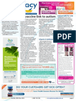 Pharmacy Daily for Tue 20 May 2014 - No vaccine link to autism, Pharmacist opportunities, Calcium safe for CVD, Guild Update and much more