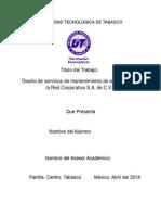 Protocolo Proyecto de Estadia