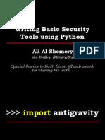 Python 4 Info Sec