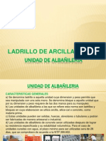 Unidad de Albañileria-Arcilla 2012