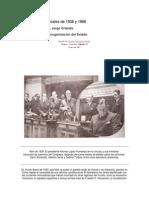 Las Reformas Liberales de 1936 y 1968