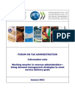 Working Smarter in Revenue Administration-Using Demand Management Strategies to Meet Service Delivery Goals (OECD 2012)