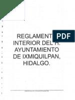 Pdfsam_reglamento Interior Del h. Ayuntamiento Deixmiquilpan