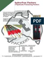 Mini Hydrualic Frac Packers