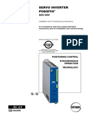 SDS 4000.pdf | Electrical Connector | Parameter (Computer ... on