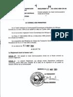 CEMAC - Reglement 2001-04 Code de La Route_2