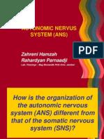 3. Autonomic Nervus System (Ans)