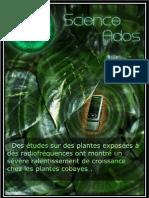 Des études sur des plantes exposées à des radiofréquences ont montré un sévère ralentissement de croissance chez les plantes cobayes.pdf